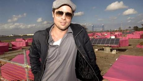 Interviu cu Brad Pitt despre proiectul de case sustenabile in New Orleans