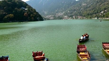 Lacul indian Naini, repopulat cu pesti
