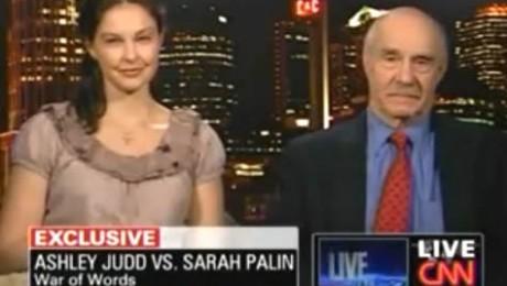 Ashley Judd o pune la punct pe Sarah Palin la Larry King Live