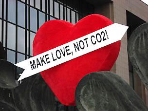 Make love, not CO2