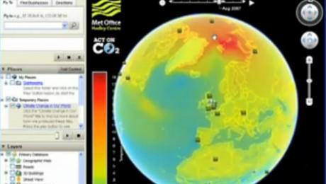Google Earth simuleaza efectele incalzirii globale