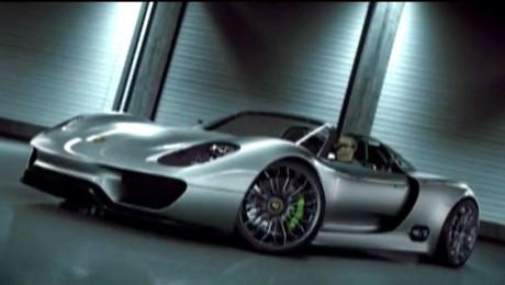 918 Spyder de la Porsche, la Salonul Auto de la Geneva