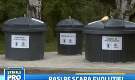 Pro Tv: Bucurestiul incearca sa se civilizeze: colectarea selectiva a deseurilor