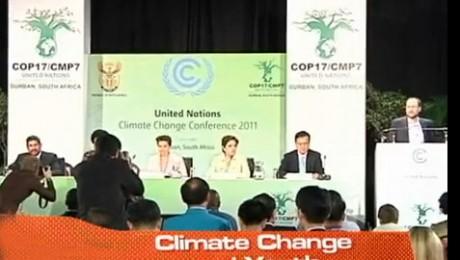 Prima conferinta pentru schimbari climatice a copiilor
