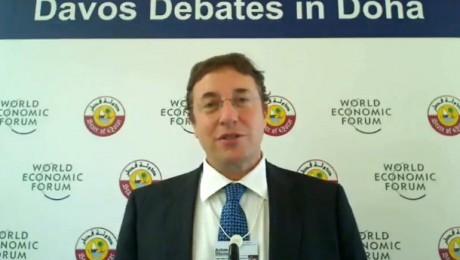 Directorul executiv al UNEP raspunde la Davos