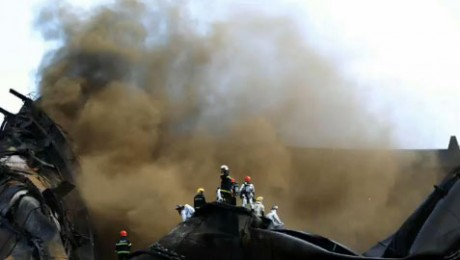 Pompier chinez, mort in timpul luptei cu pata de petrol