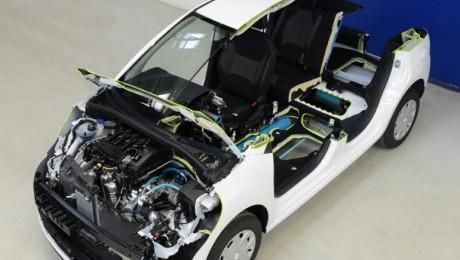 Francezii au construit automobilul hibrid cu aer comprimat