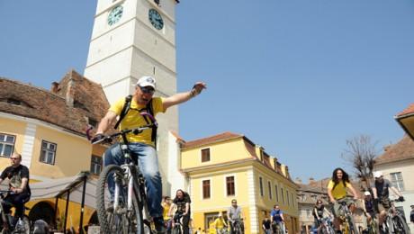 Descopera Sibiul pe bicicleta