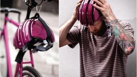Carrera lanseaza casca pliabila pentru biciclisti (Video)