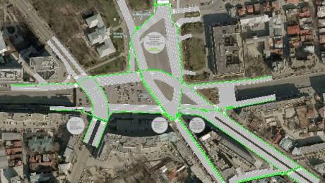 Reamenajarea Pieței Victoriei ar putea constitui o bază pentru proiectarea pistelor de biciclete