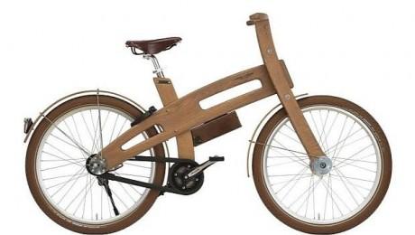 E-Bough, prima bicicletă electrică realizată din lemn