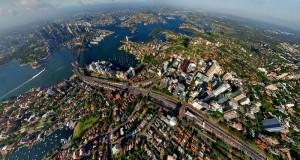 Sydney, cel mai mare oraş din Australia, care numără peste 4.200.000 de locuitori