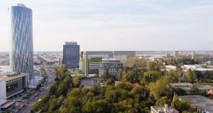 """Floreasca Park și Green Court, două centre de afaceri """"verzi""""."""