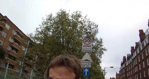 pieton ataca o biciclista