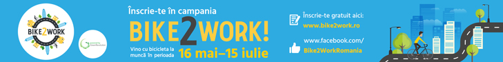 Cover Photo » Bike2Work 16 mai-15 iulie