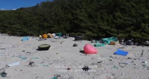 bucăți de plastic