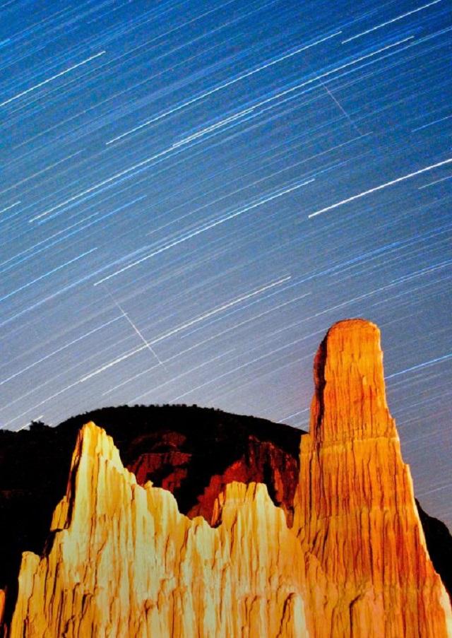 Perseid Meteor Shower 2013 - Nevada