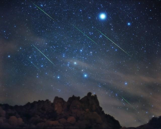 Leonid Bolides Streak Through the Night Sky