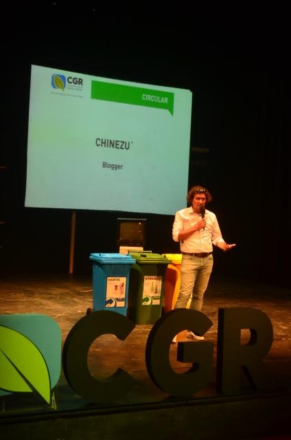 Bloggerul Cristian China Birta (Chinezu') a vorbit despre reciclarea deșeurilor din perspectiva simplului cetățean.