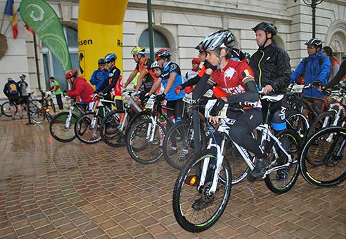 Concurenții, la startul Urban Race
