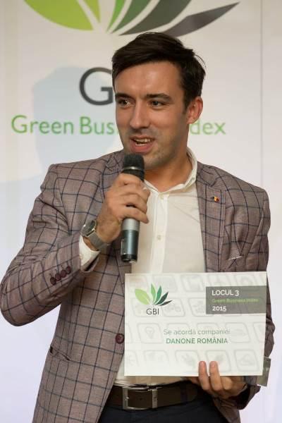 Valentin DRAGOMIR, Environment Manager Danone