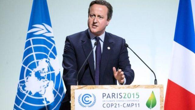 David Cameron la COP21