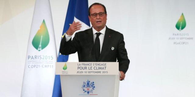 Francois Holland la COP21