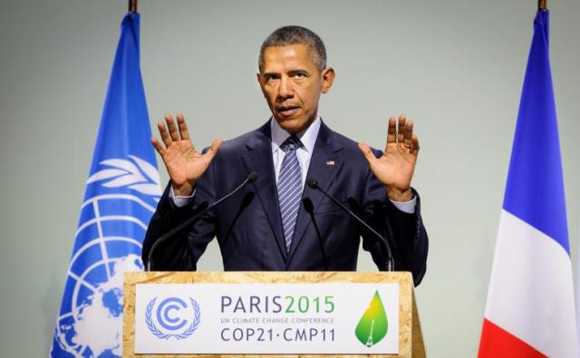 Barack Obama la COP21