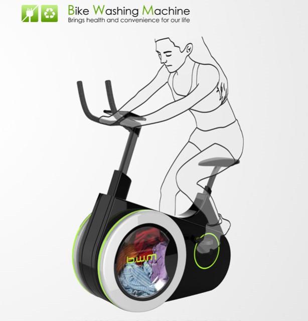 Bicicleta masina de spalat