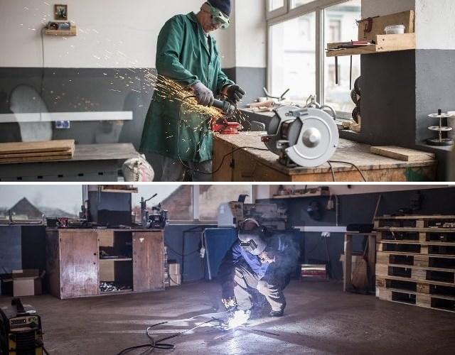 QUIB atelier prelucrare fier, atelier de economie circulară