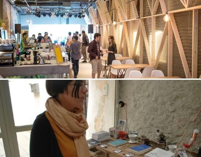 Corina, în Hof Cafe, atelier de economie circulară