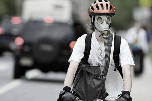 poluare biciclete bicicliștii