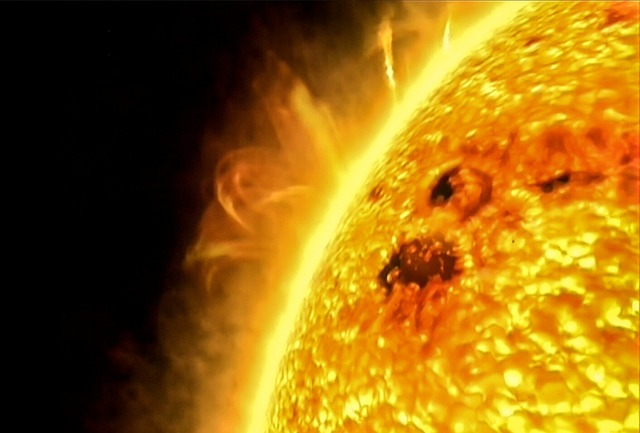 Soare Spatiu
