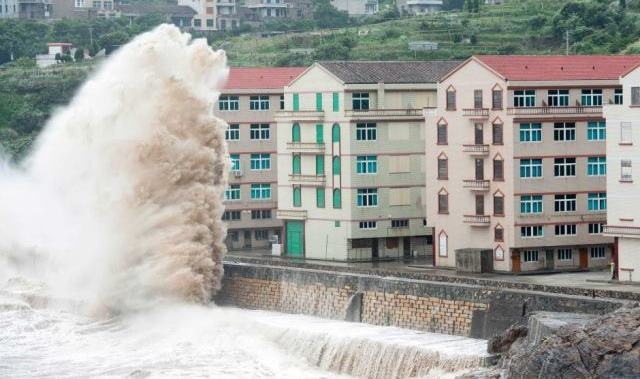 schimbările climatice taifun