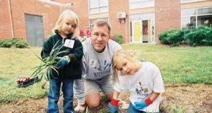 Acțiuni de voluntariat în familie în domeniul ecologiei