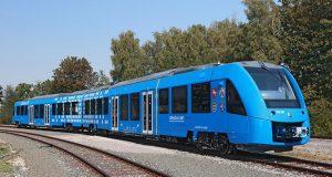 FOTO Primul tren pentru pasageri din lume care funcționează pe bază de hidrogen