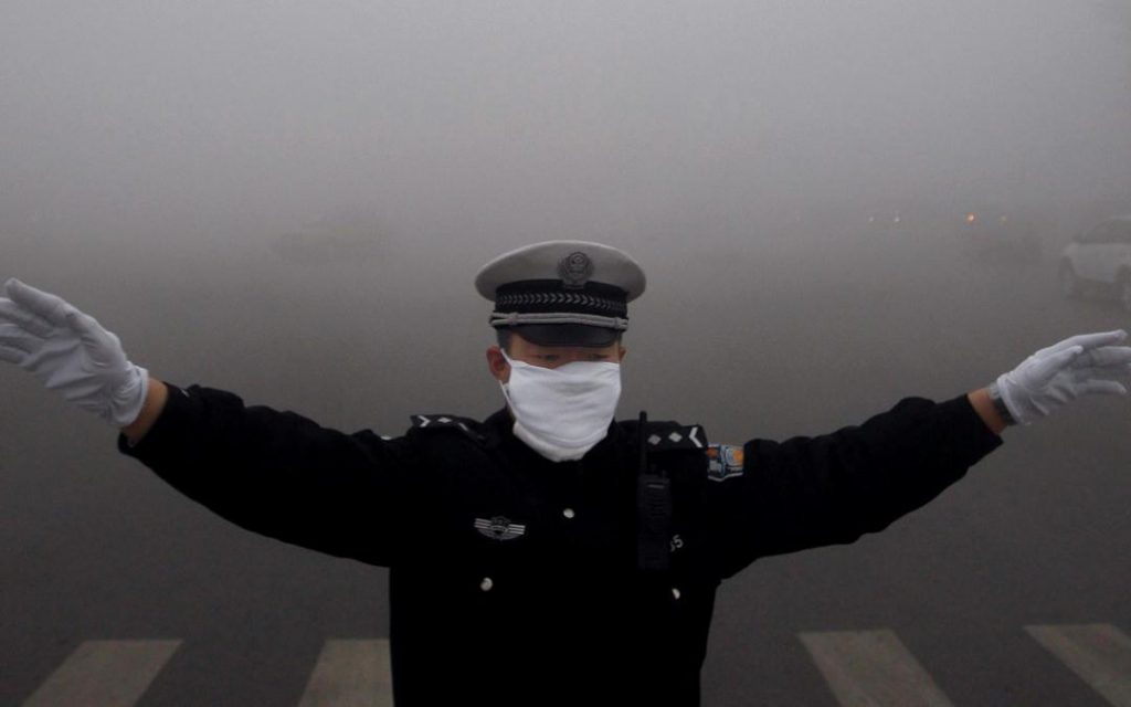 China smog poluare poluarea aerului