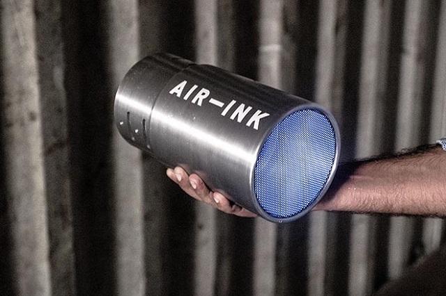 Air Ink, prima gamă de produse cu cerneală obținută din aerul poluat