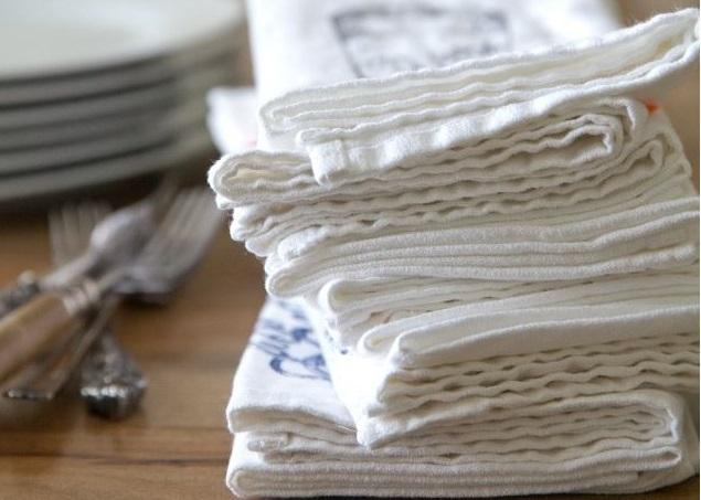 Cum să înlocuiești șervețelele de hârtie din bucătărie cu prosoape din material textil