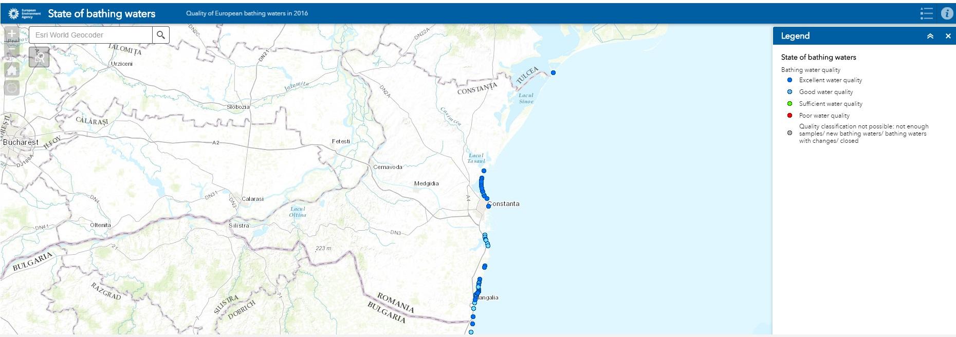 poluare ape romania litoralul românesc