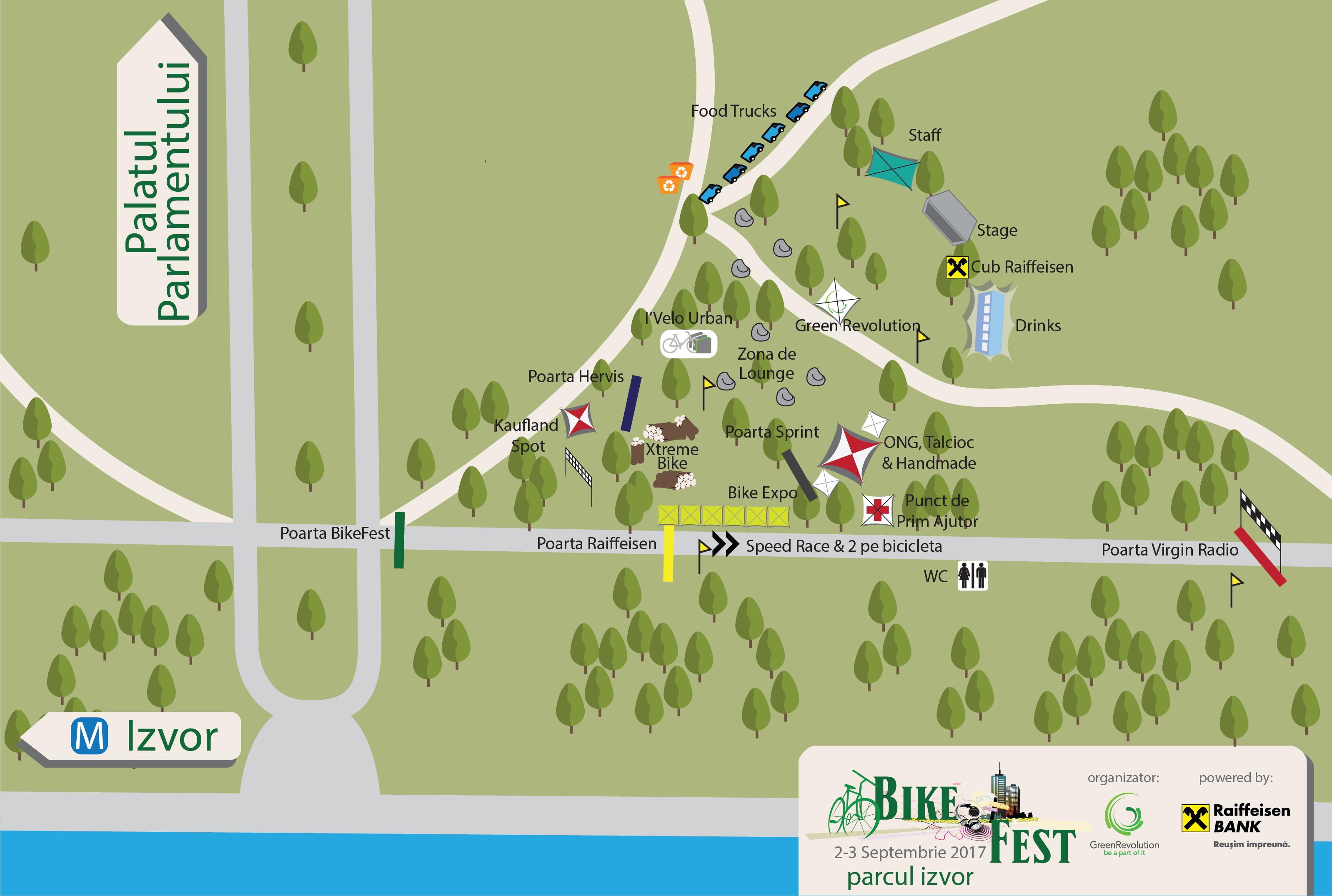 Bike Fest harta Plastic Free Lifestyle
