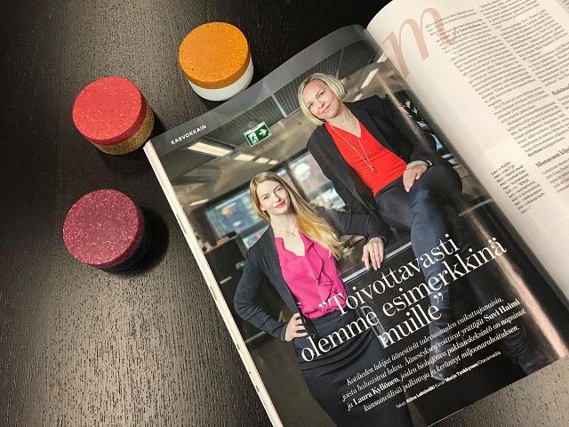 Sulapac, primul ambalaj ecologic premium pentru cosmetice din lume