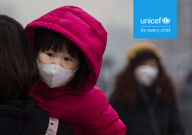 UNICEF poluare copii