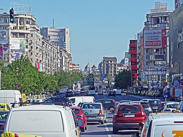 fluidizarea traficului în București