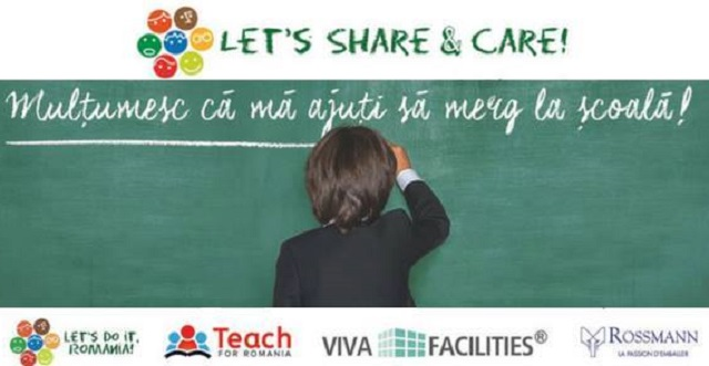 "Primul an ""Let's Share & Care!"""