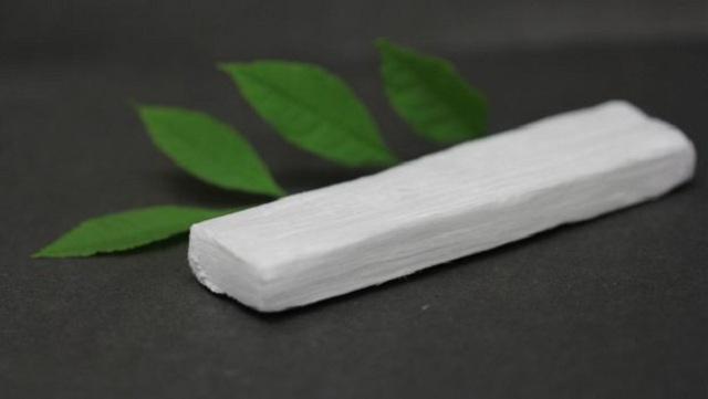 lemn biodegradabil izolare