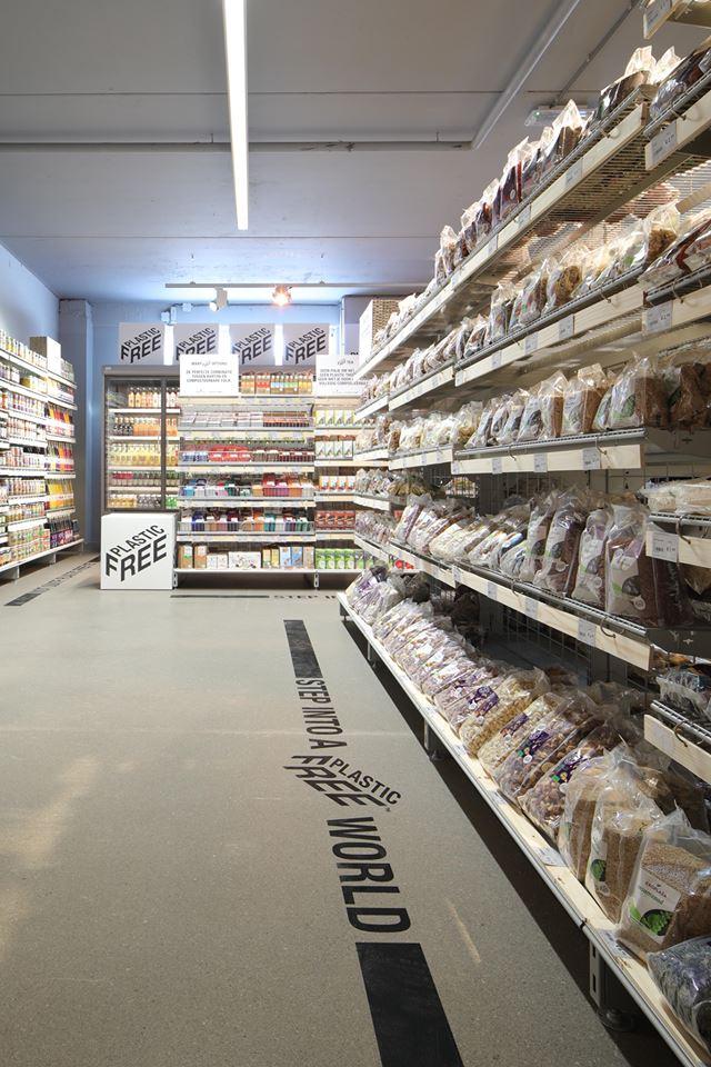 supermarket fara plastic