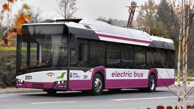 Primele autobuze electrice din România vor ajunge la Cluj la sfârşitul lunii aprilie