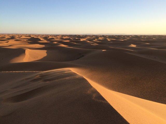 Deșertul Sahara s-a extins cu 10%