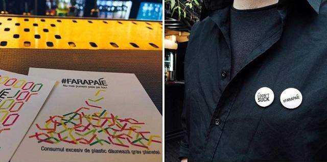 Expirat, primul bar din București care a renunțat la paiele de plastic